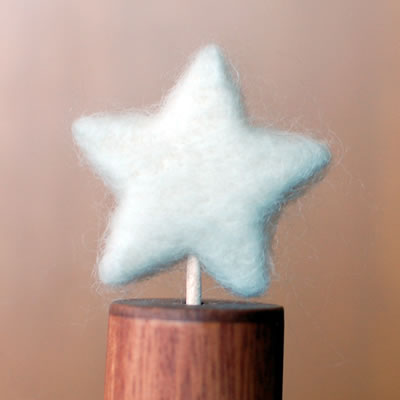 ツリーのてっぺんの星