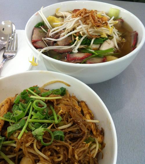 ベトナムもしくはタイの麺