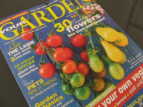オーストラリアの園芸雑誌