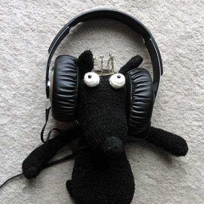 新しいヘッドフォン