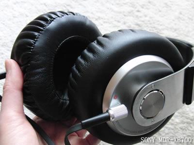 新しいヘッドフォン SONY MDR-XB700