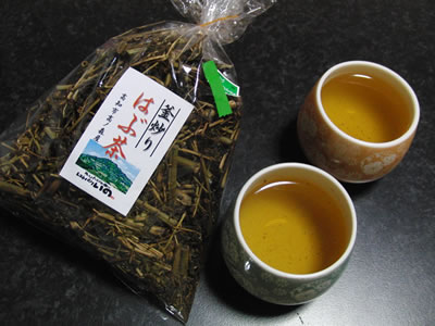 釜炒りはぶ茶