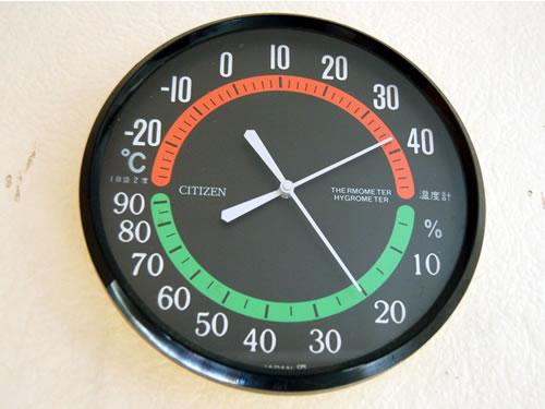午後2時すぎ頃の室温は約38度