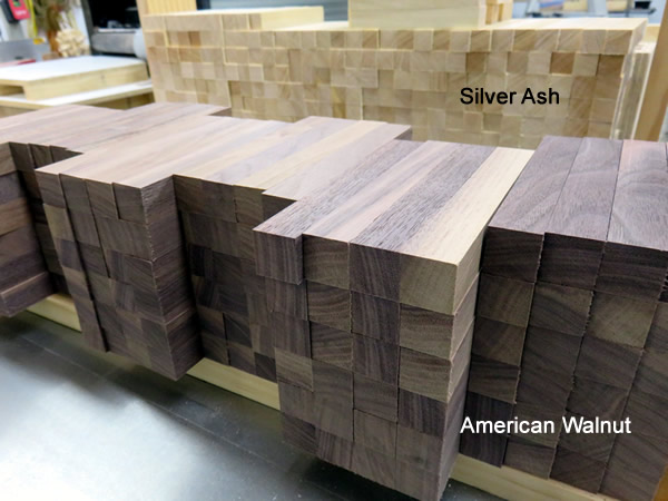 Silver Ash and American Walnut